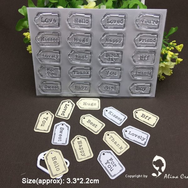 Sentiment Tags Die And Stamp Set