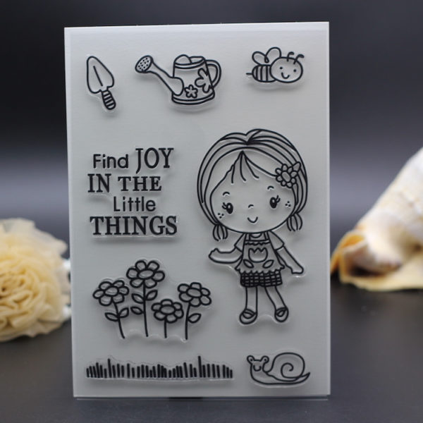Girl Find Joy In Little Things