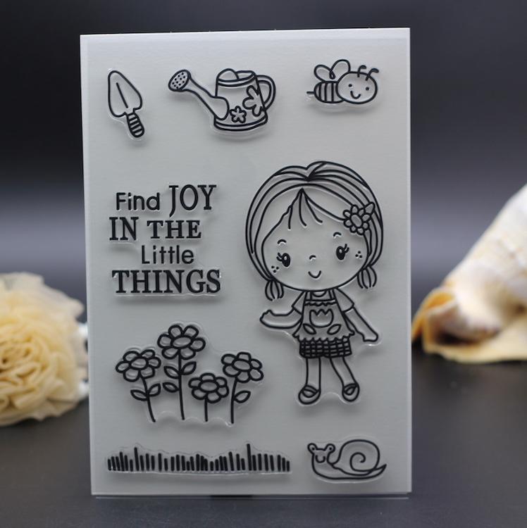 Girl Find Joy In Little Things