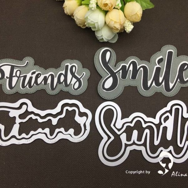 Friends And Smile Die And Stamp Set