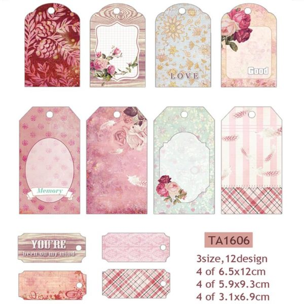 Decorative Labels (Pink)