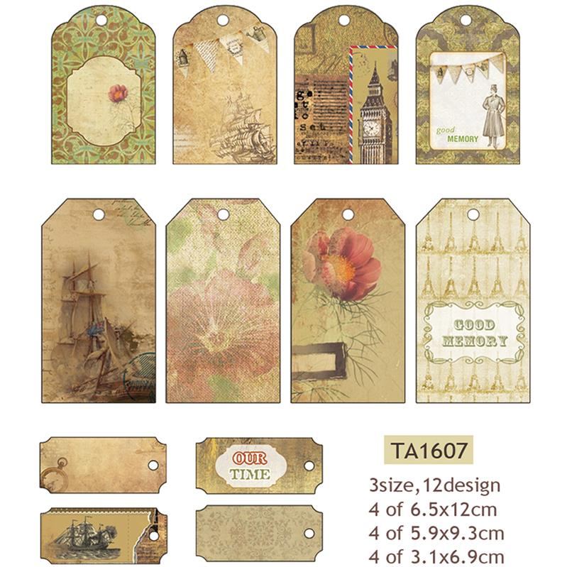 Decorative Labels (Brown)