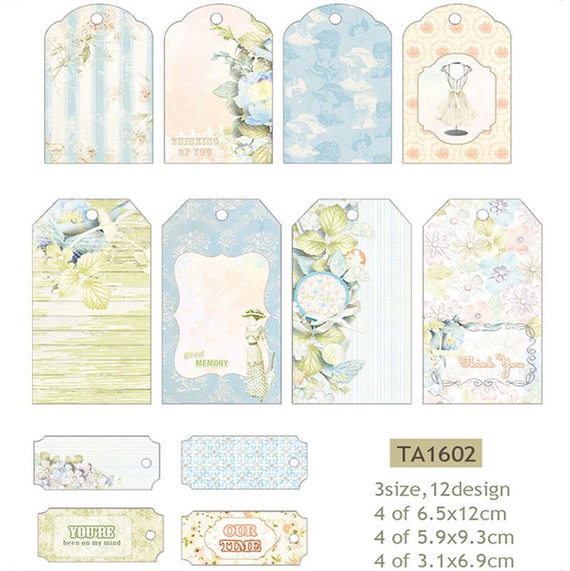 Decorative Labels (Winter Blue)