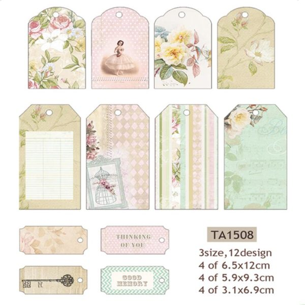 Decorative Labels (Pastels)