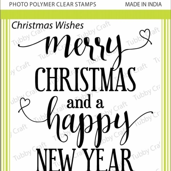 Christmas Wishes - Stamp