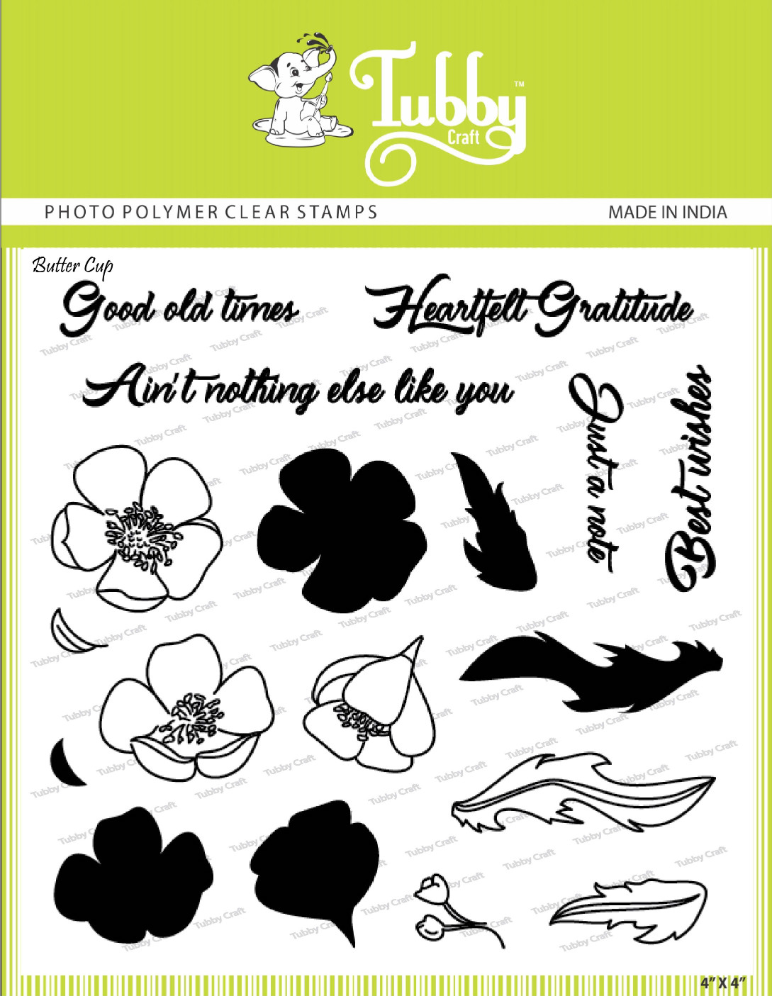Buttercup - Stamp