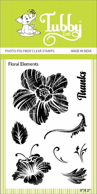 Floral Elements - Stamp