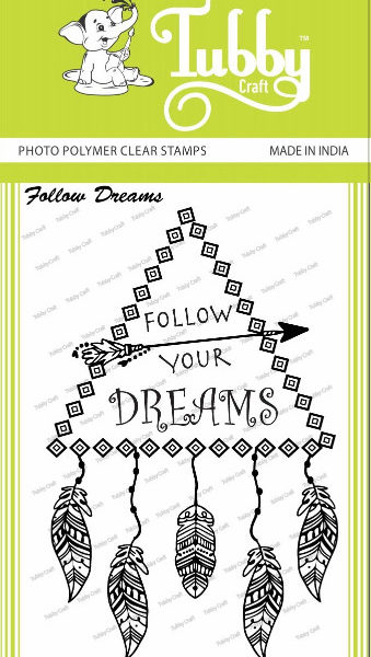 Follow Dreams - Stamp