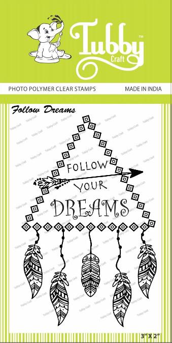Follow Dreams - Stamp