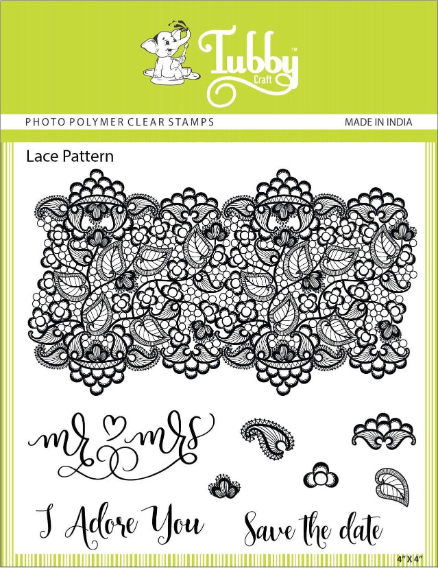 Lace Pattern - Stamp