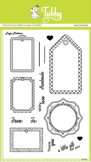 Tags Pattern - Stamp
