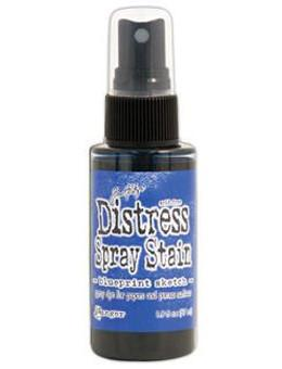 Blueprint Sketch- Distress Spray Stain