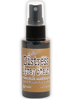 Brushed Corduroy- Distress Spray Stain