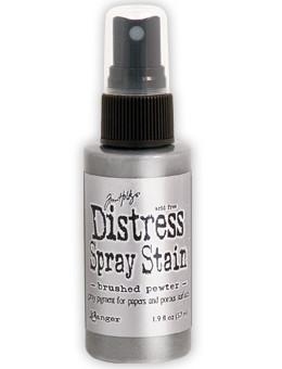 Brushed Pewter- Distress Spray Stain