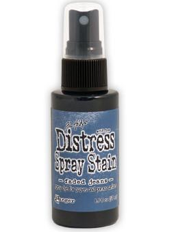 Faded Jeans- Distress Spray Stain