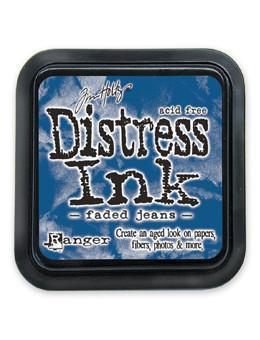 Faded Jeans- Mini Distress