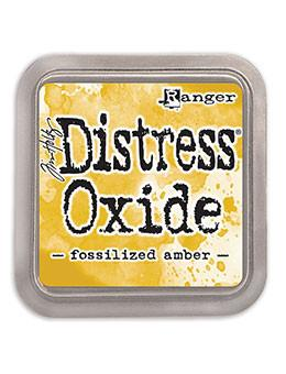 Fossilized Amber- Distress Oxide