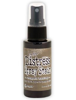 Frayed Burlap- Distress Spray Stain