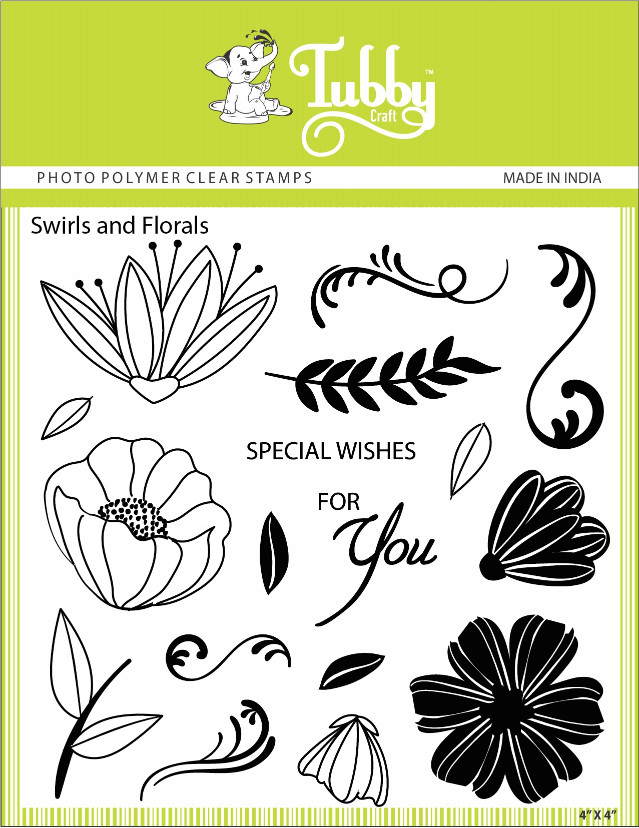 Swirls And Florals - Stamp