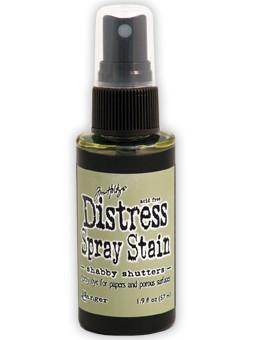 Shabby Shutters- Distress Spray Stain