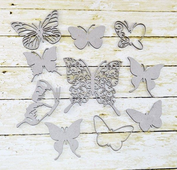 Butterfly - Collage Chippis