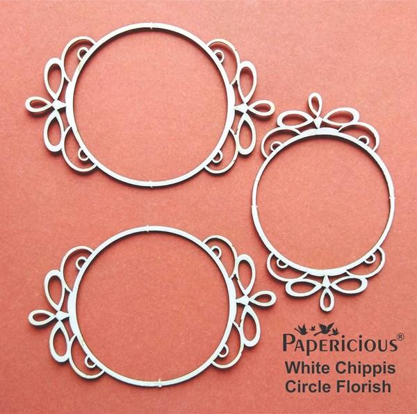 Circle Florish - White Chippis