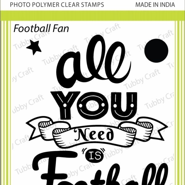 Football Fan - Stamp