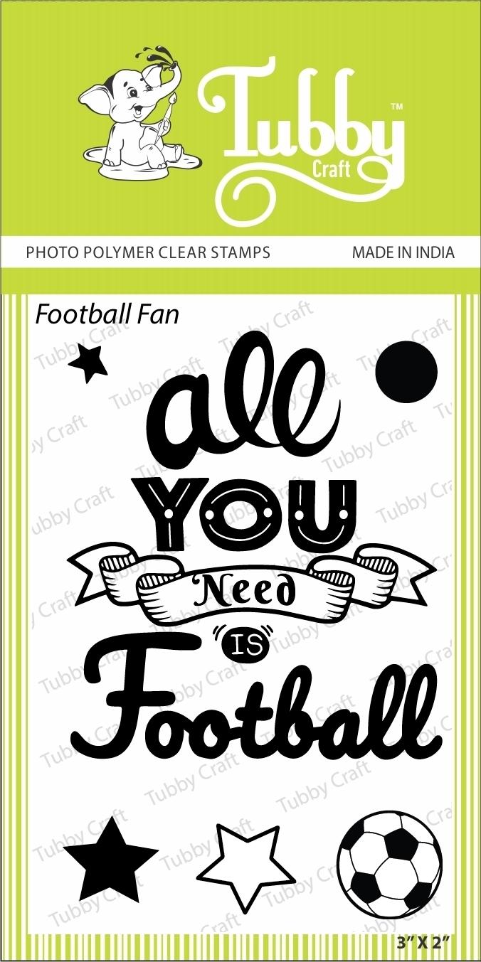 Football Fan - Stamp