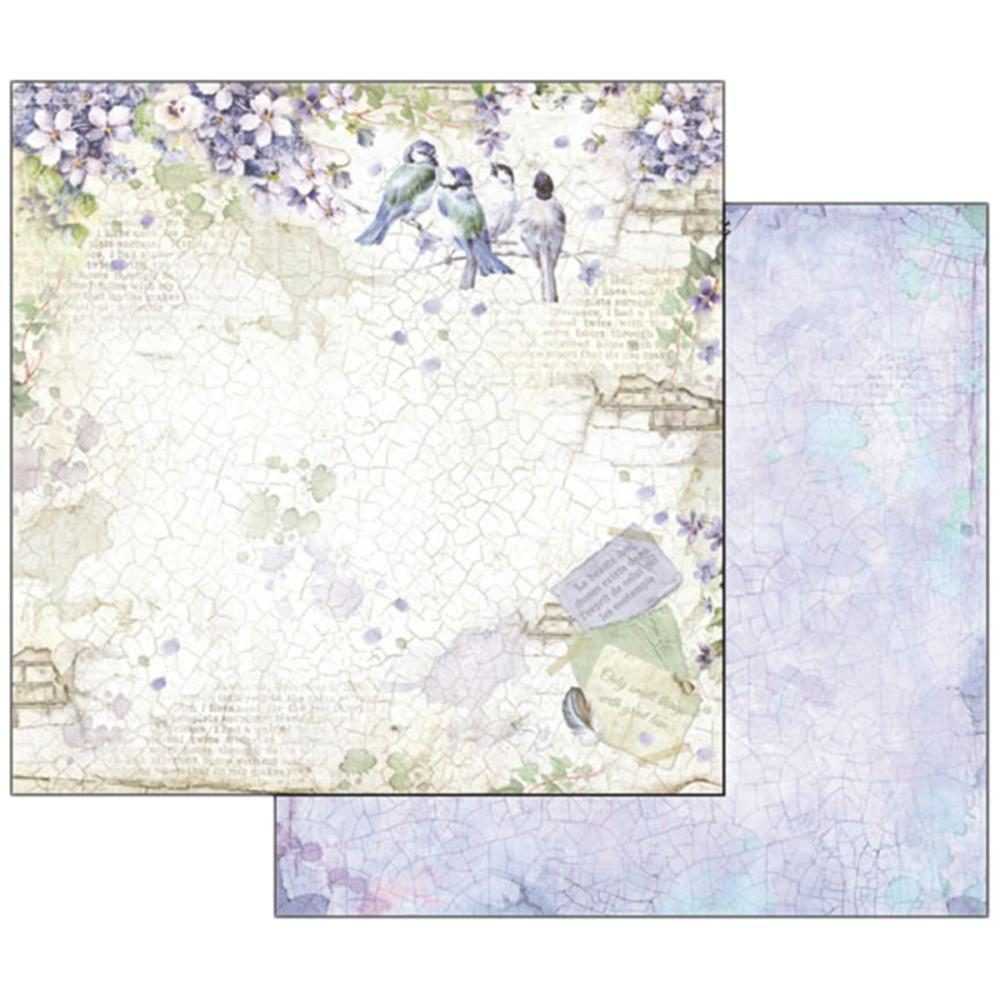 Flower alphabet wisteria - sheets