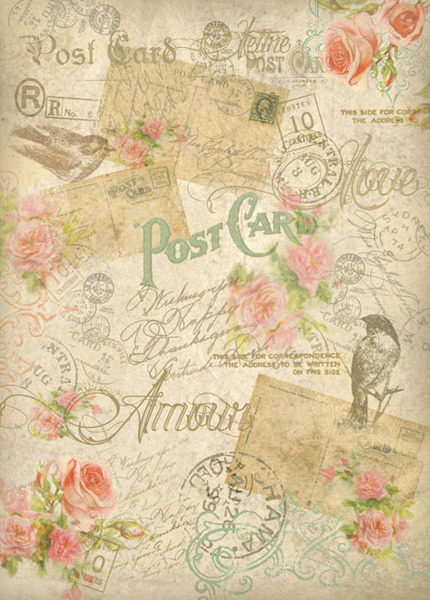 Post card - A4