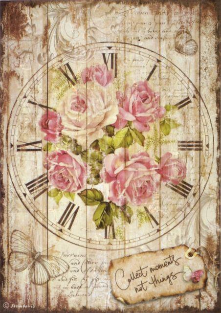 Sweet time clock bouquet - A4