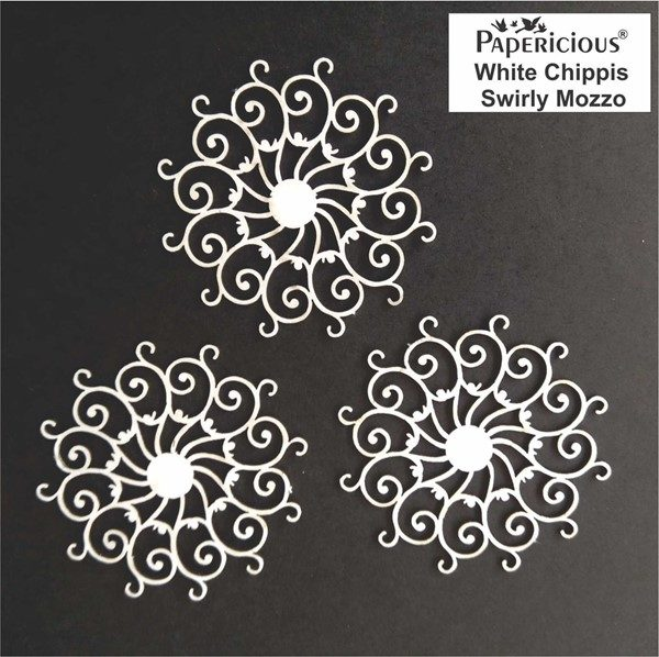 Swirly Mozzo - White Chippis