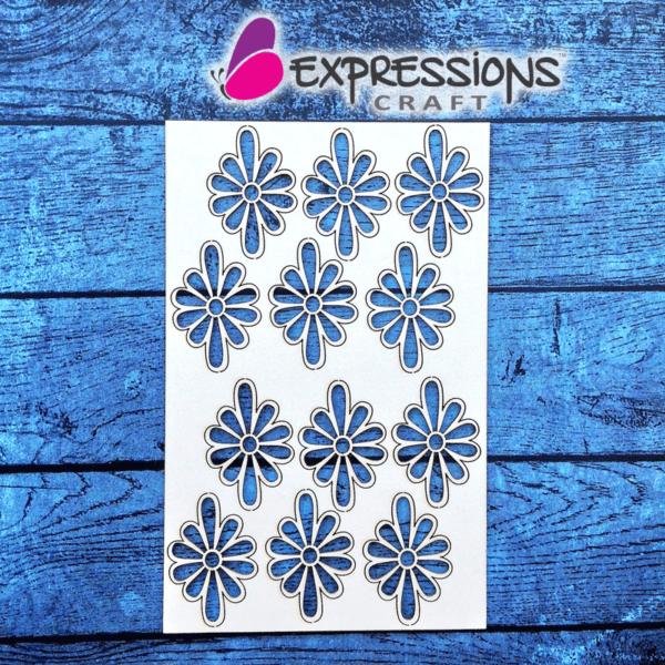 Ornamental Flowers - Chipboard