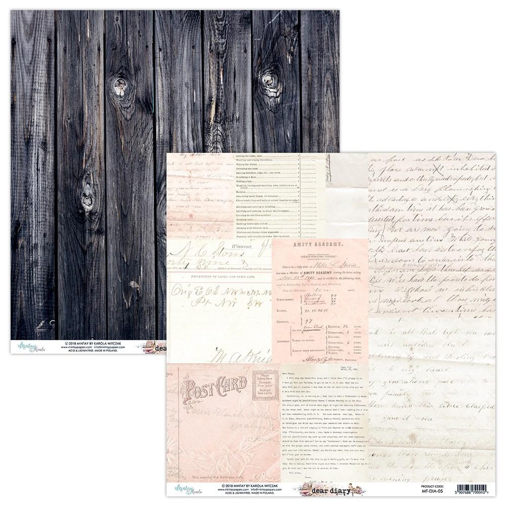 Dear Diary - 12x12 Paper Pack