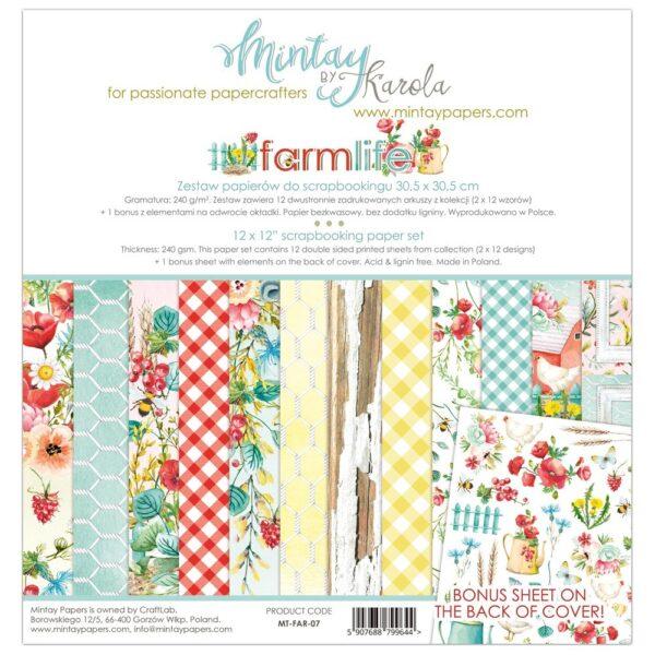 Farmlife - 12x12 Paper Pack