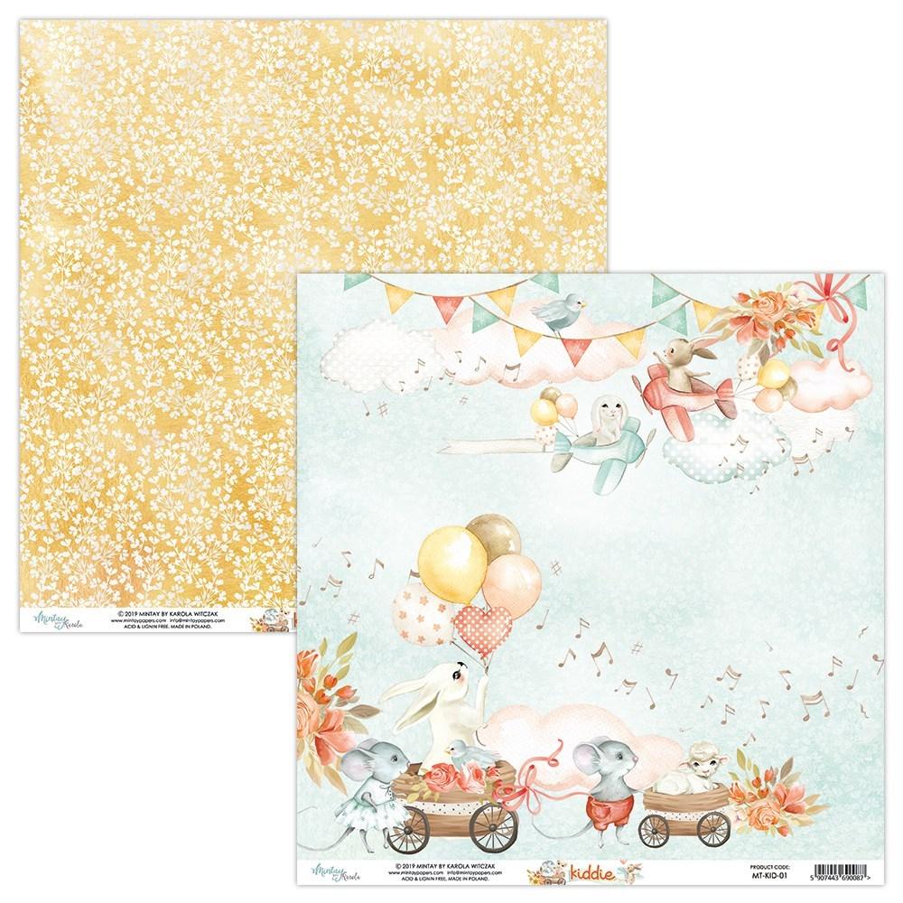 Kiddie - 12x12 Paper Pack