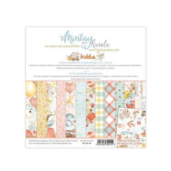 Kiddie - 6x6 Paper Pack