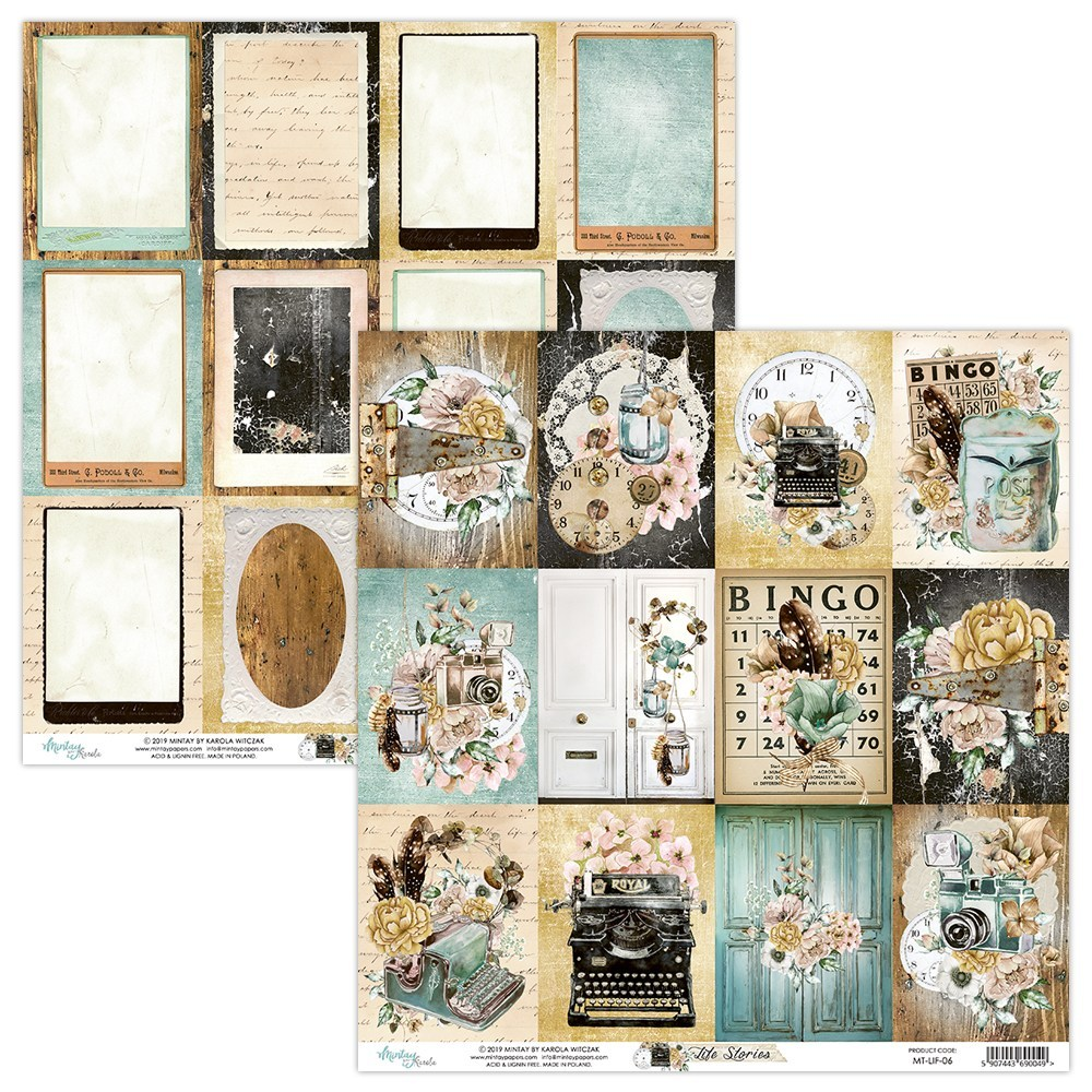 Life Stories - 12x12 Paper Pack