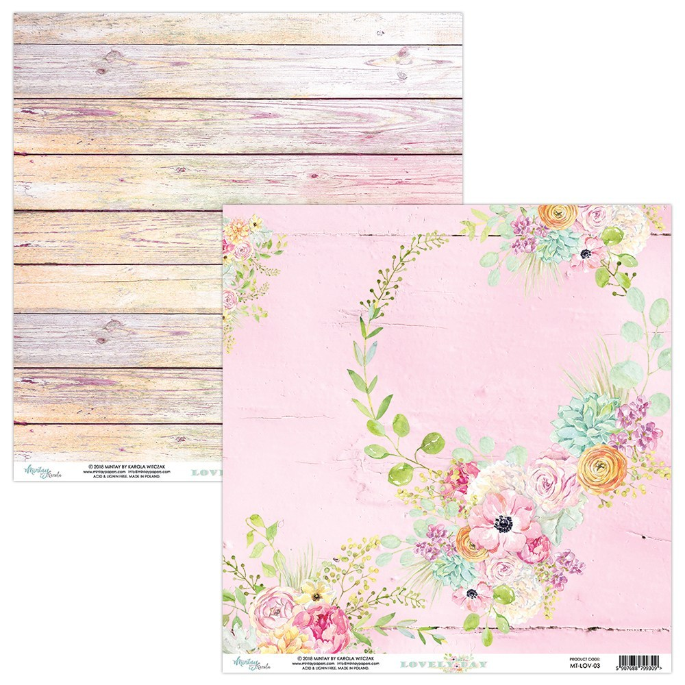 Lovely Day Double Sided Sheet