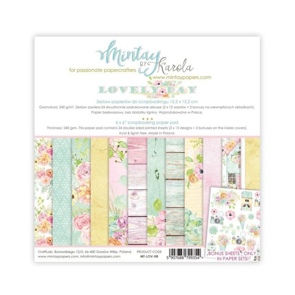Lovely Day - 6x6 Paper Pack