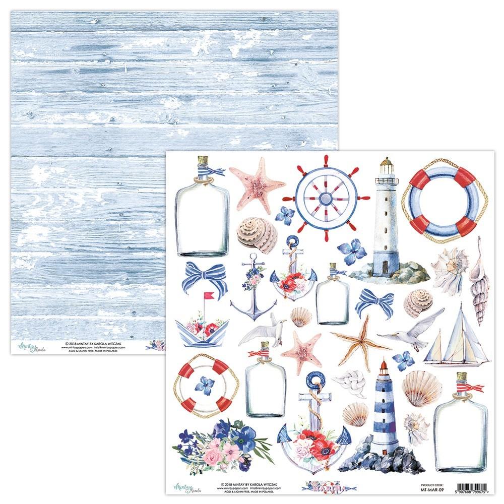 Marina 12x12 Paper Pack