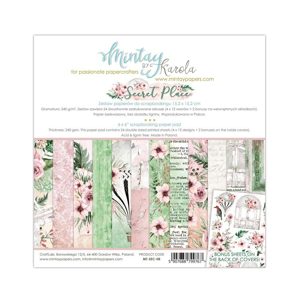 Secret Place - 6x6 Paper Pack