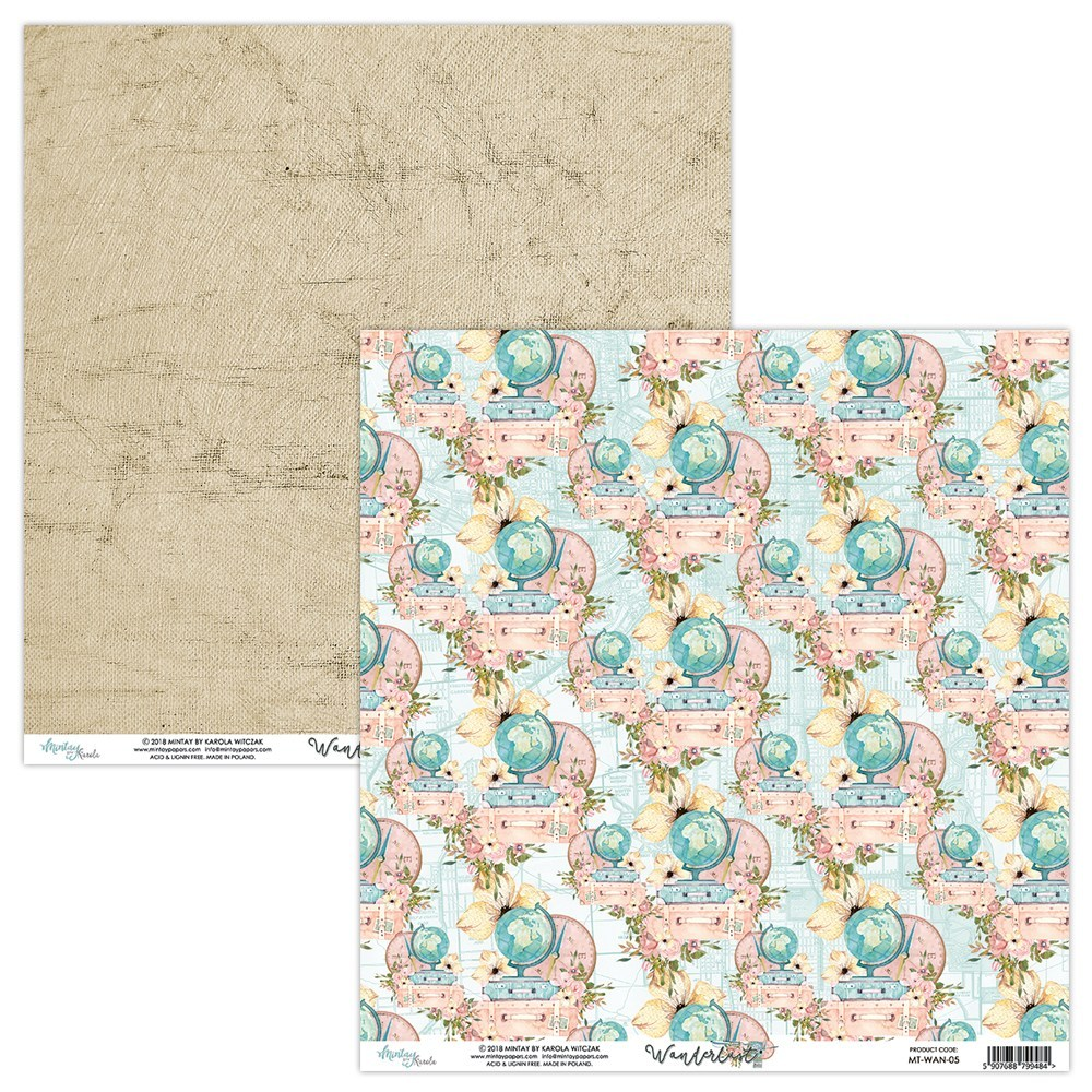 Wander Lust - 12x12 Paper Pack