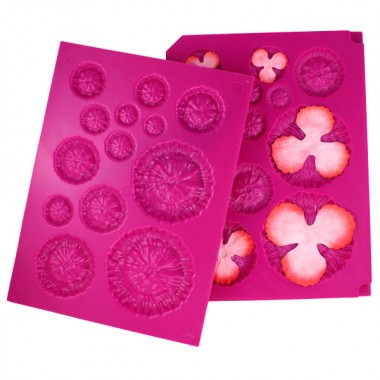 3D Floral Basics Shaping Mold