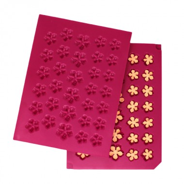 3D Petite Florals Shaping Mold