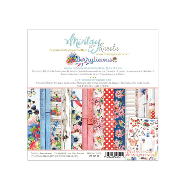 Berrylicious - 6x6 Paper Pack