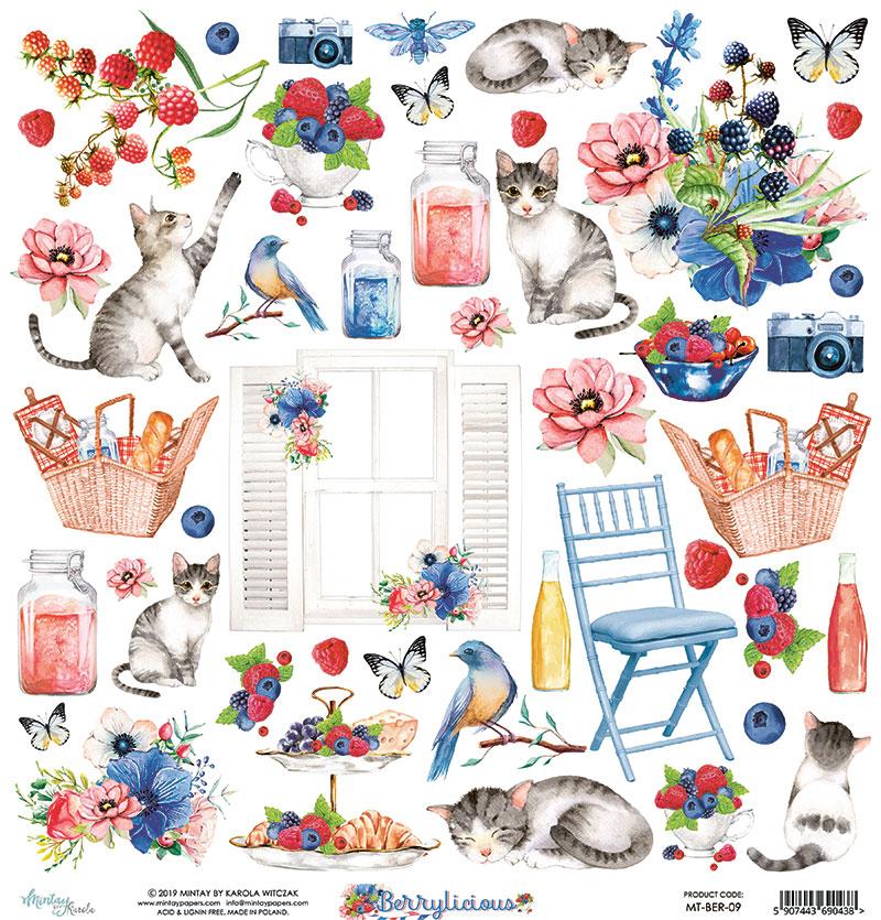 Berrylicious  Element Sheet