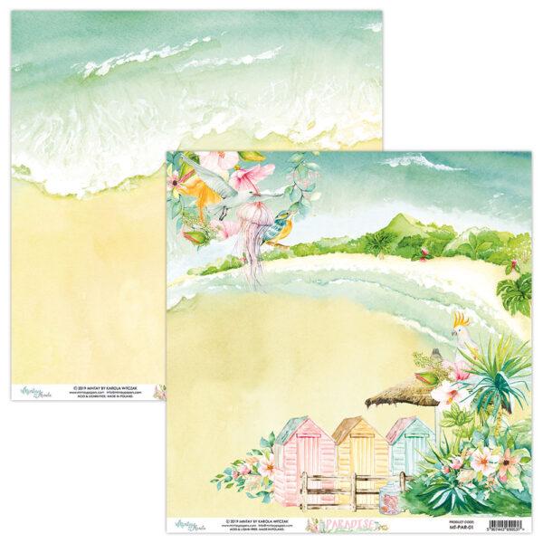Paradise - 12x12 Paper Pack
