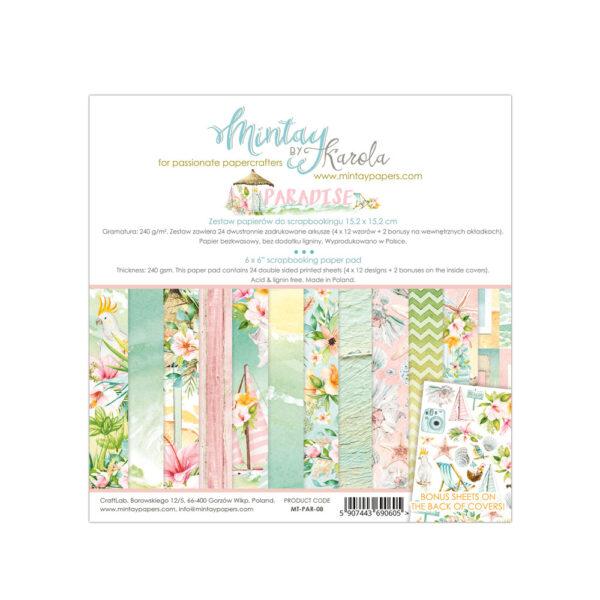 Paradise - 6x6 Paper Pack