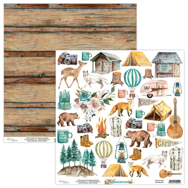 Wilderness - 12x12 Paper Pack